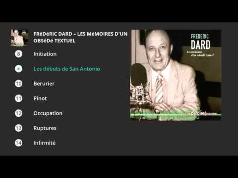 Frédéric Dard - Mémoires d'un obsédé textuel . Paroles Radio France-Ina