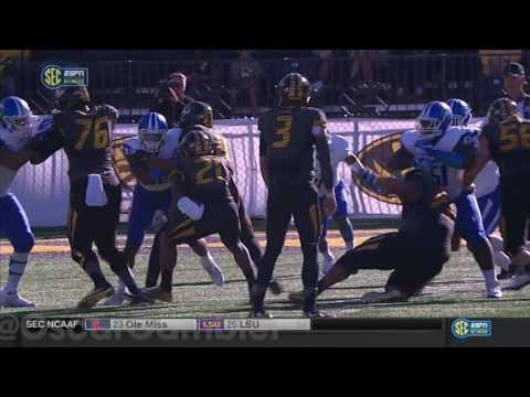 2016 Middle Tennessee State vs Mizzou
