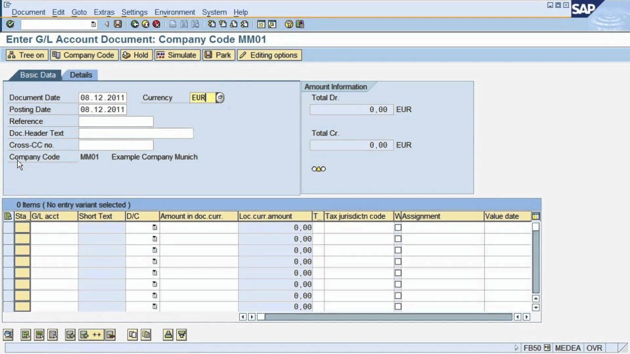 fs2 sap tutorial how to post a document in sap financial rh youtube com SAP Asset Systems SAP Dashboard Design