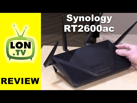 Synology RT2600ac Router Review vs. RT1900ac - Clientless VP