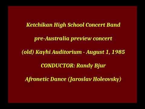 4) Afronetic Dance - 1985 Ketchikan High School Concert Band