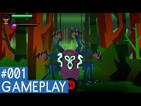 Severed PS Vita Gameplay #1 (Training, Domain of the Crows)