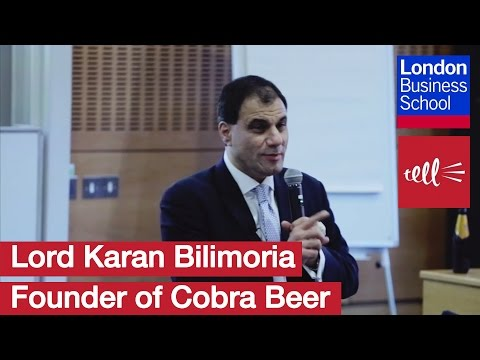 Lord Karan Bilimoria: Founder of Cobra Beer