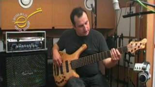demo Mayones Comodous Classic 6 bass guitar - test do E-GITARA.net.pl