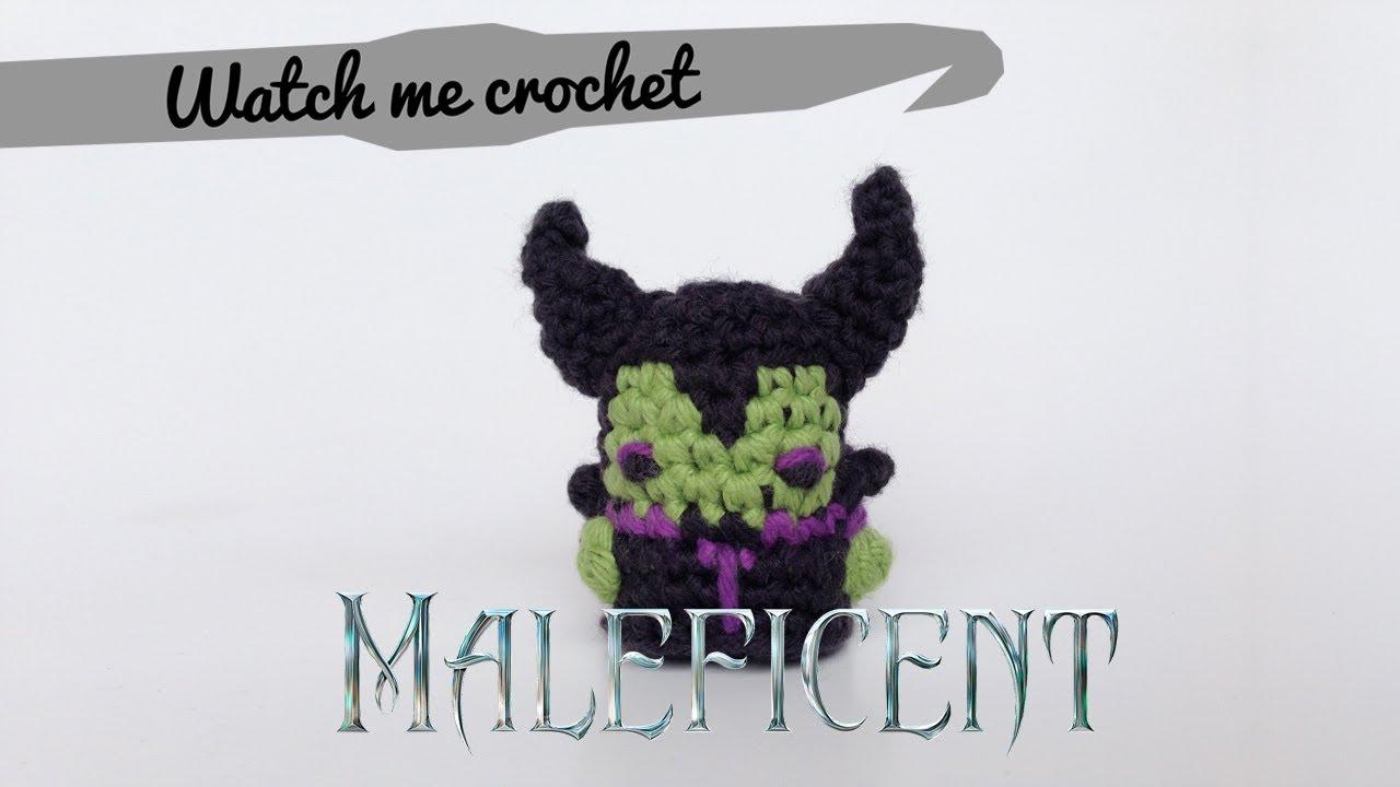 Maleficent Watch Me Crochet Youtube