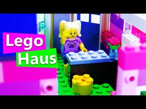 LEGO HAUS Einrichtung Küche & Wohnzimmer | Tisch, Fernseher, Kühlschrank | DIY Inspiration Kids Club
