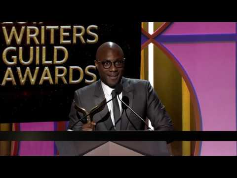 Barry Jenkins wins the 2017 Writers Guild Award for Original Screenplay for Moonlight