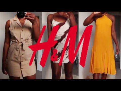 HUGE H&M HAUL & TRY ON
