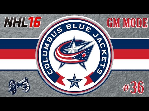 NHL 16: Columbus Blue Jackets GM Mode #36 | Another Promising Season [PS4]