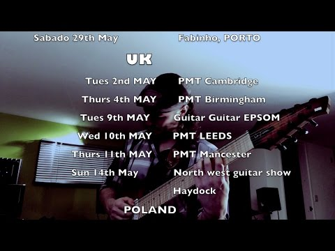 April/May 2017 Update, JAM and Masterclass Dates (Correction)