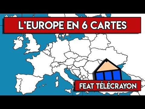 6 CARTES SUR L'EUROPE (feat Télécrayon)