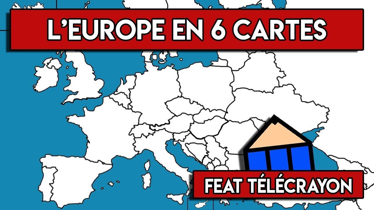 carte europe des 6