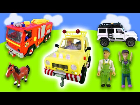 fireman-sam-|-large-rescue-operation-with-jupiter,-trevor-bus-|-norman-makes-the-horses-shy