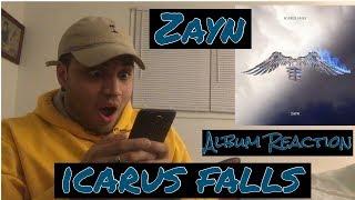 ZAYN ICARUS FALLS ALBUM (REACTION)
