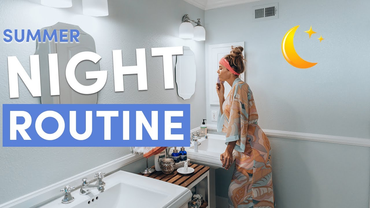 My HEALTHY Night Routine 2019