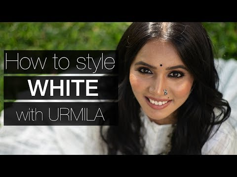 How to style WHITE | All Whites | in Marathi | with Urmila