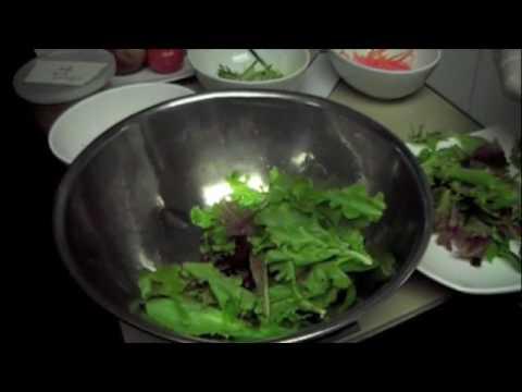 Organic Field Greens and Heirloom Tomato Salad
