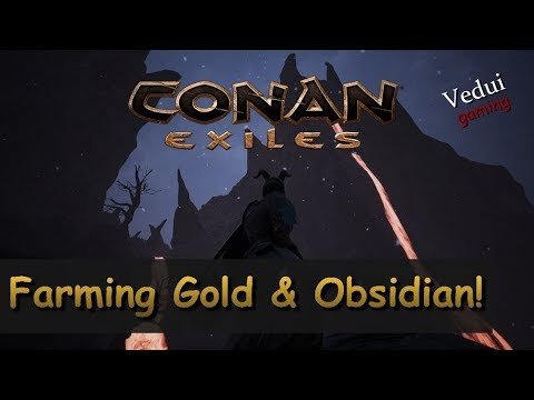 Conan Exiles Star Metal Where To Find How To Mine