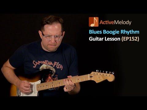 Blues Boogie Rhythm Guitar Lesson (With Lead Licks) - EP152
