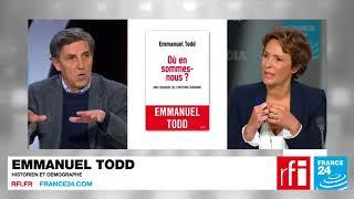 Emmanuel Todd et Marlène Schiappa