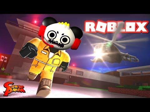 JAIL BREAK ESCAPE EPIC FAIL! ROBLOX Let's Play with Combo Panda