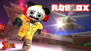 JAIL BREAK ESCAPE EPIC FAIL! ROBLOX Let's Play with Combo Panda