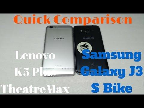[Hindi - हिन्दी] Comparison Lenovo K5 plus vs Samsung Galaxy J3