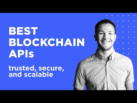 ???? BEST BLOCKCHAIN APIS | THE ULTIMATE LIST