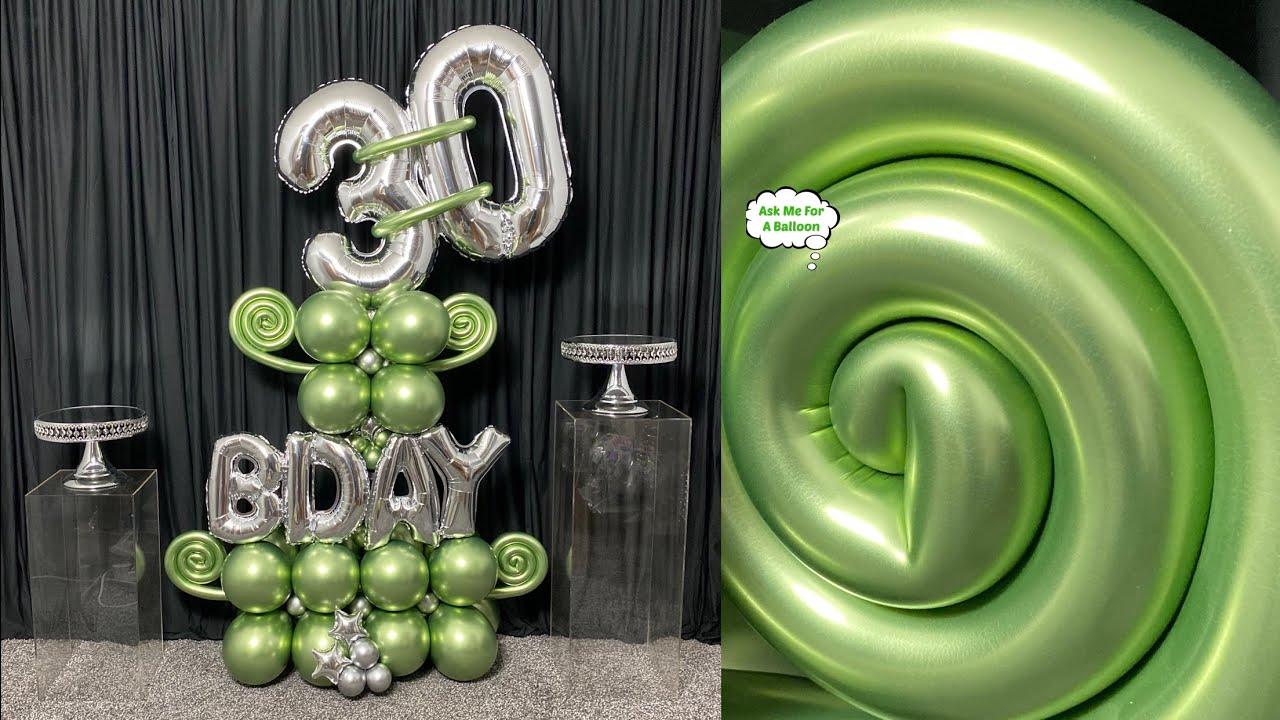 Balloon Bouquet 30th Birthday
