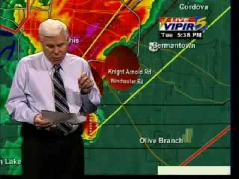 The 2008 Super Tuesday Tornado Outbreak : Memphis Tornado Coverage