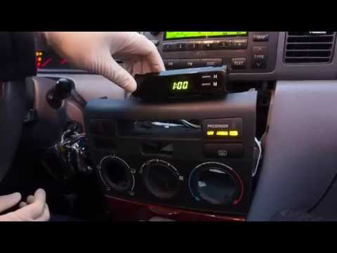 How To Fix The Clock On Your 2003-2008 Toyota Corolla