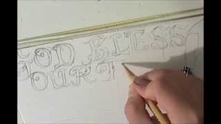 Never Forgotten! Patriotic Soldier Remembrance pencil, time lapse drawing