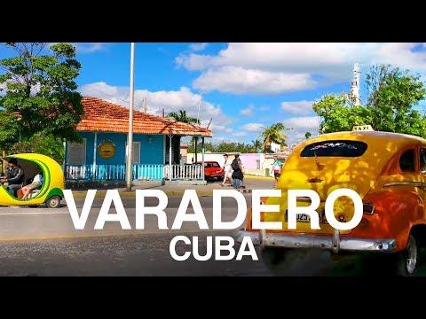 Virtual Varadero, Cuba. Relaxing Beach & Town Walking Tour.