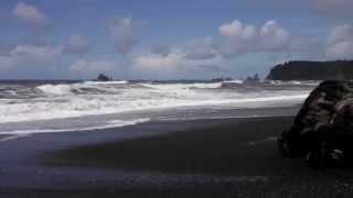 Railto Beach Waves