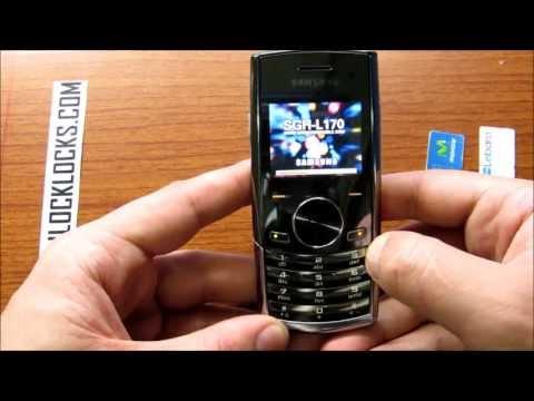 How To Unlock Samsung L170 By Unlock Code From UnlockLocks.COM