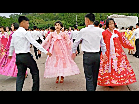 Romantic Dance in North Korea