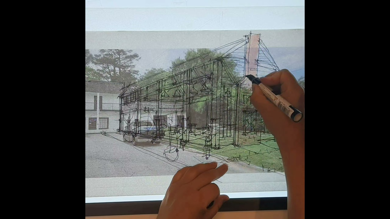 Restaurant Open Air Patio Design