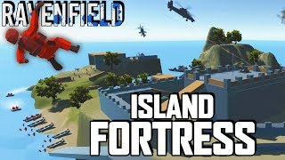 INVINCIBLE ISLAND FORTRESS! Amazing Cas...