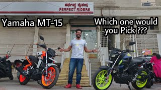 Modified Yamaha MT 15 |  Best Looking MT-15 in India???