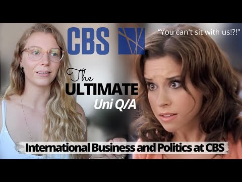 The ULTIMATE COPENHAGEN BUSINESS SCHOOL Q/A. BSc IBP! How tough is it really?