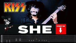 Kiss - She (Guitar Cover by Masuka W/Tab)