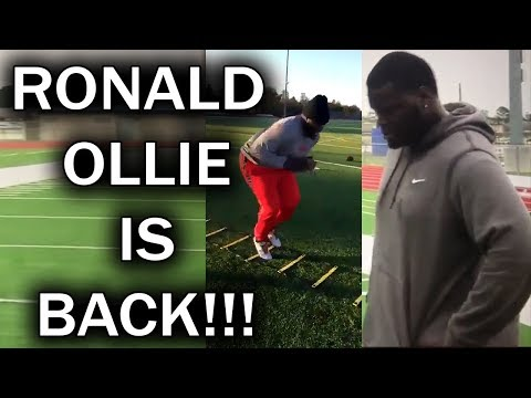 Ronald Ollie from Last Chance U Coming Back to College Football!!!