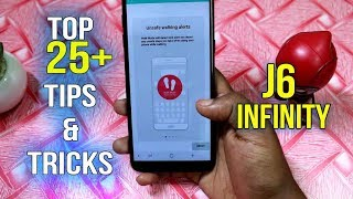 Samsung Galaxy J6 Top 25 Best Features | Galaxy J6 infinity Tips And Tricks in Hindi