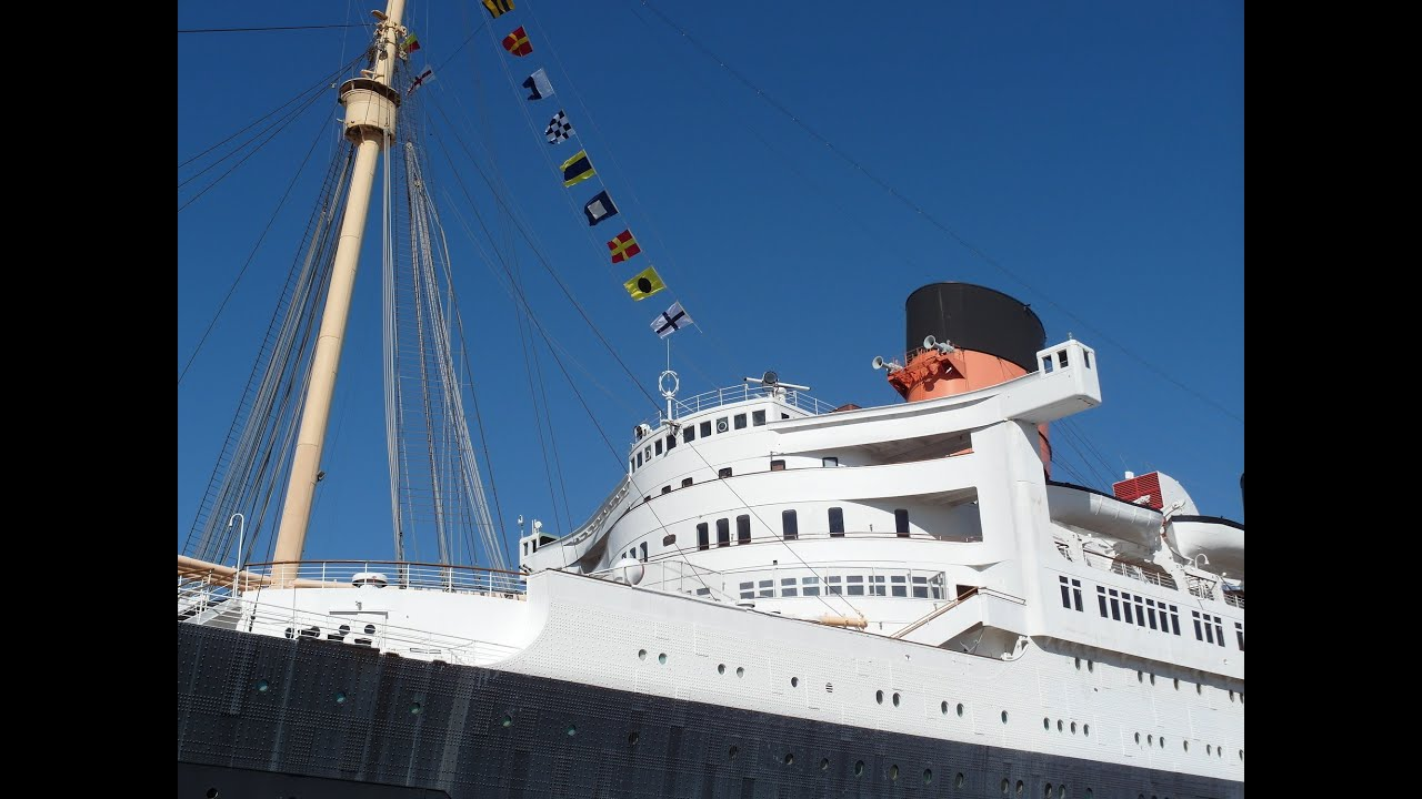Queen Mary Hotel Review Tour Ship Cabin A127 Long Beach California