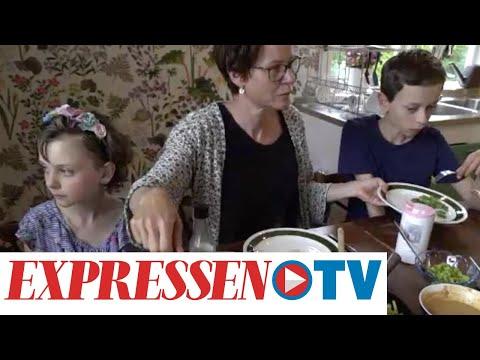 Familjen Ekerhult lever klimatsmart: 'Jag är väldigt orolig'