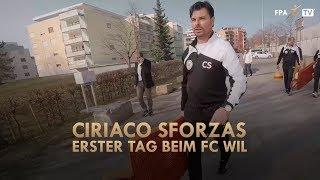 Ciriaco Sforzas erster Tag beim FC Wil