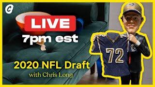 🔴NFL Draft LIVE STREAM with Chris Long | Chalk Media