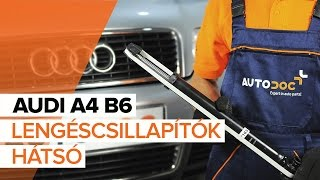 Audi A4 B5 Avant - autójavításról szóló videók lejátszási listája