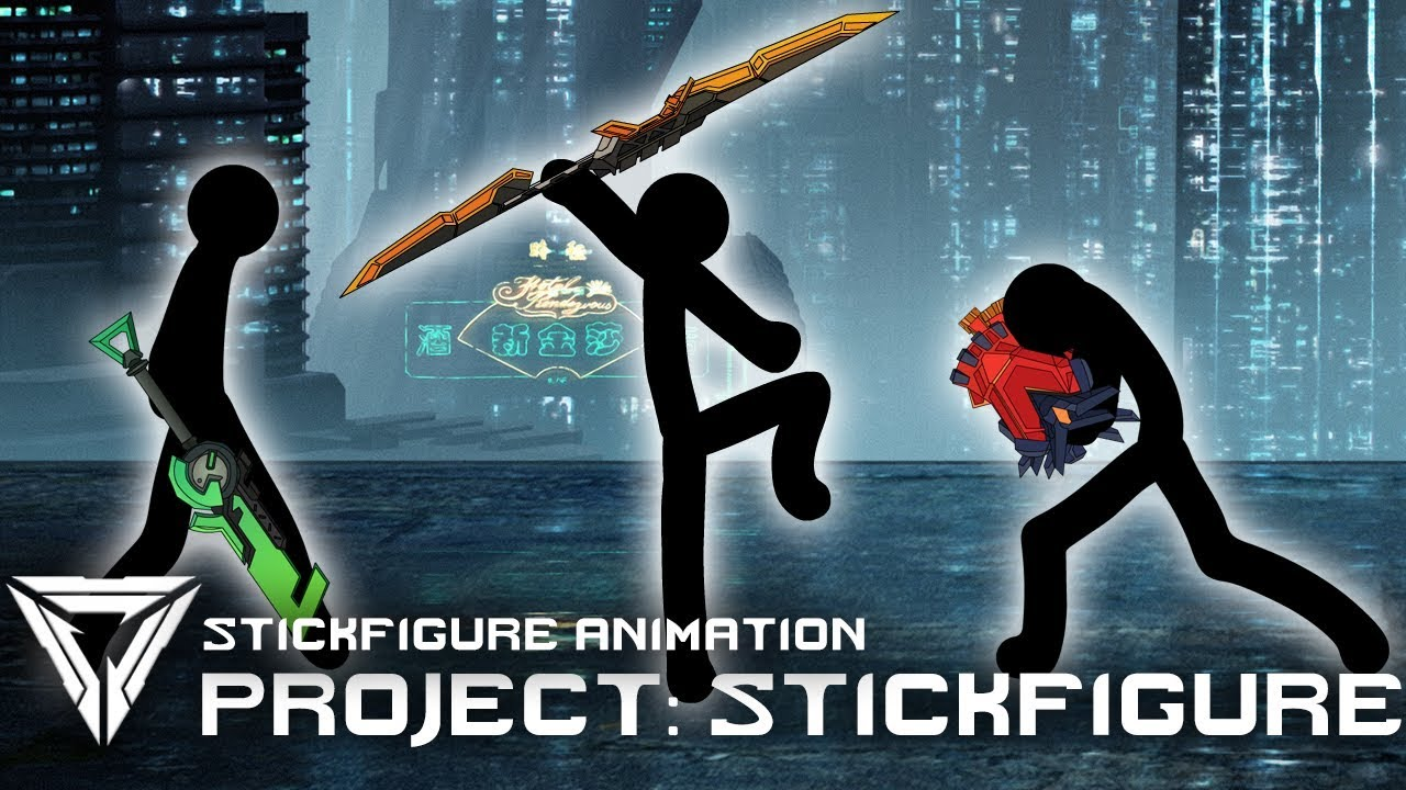 PROJECT: STICKFIGURE | League Of Legends Stickfigure Animation