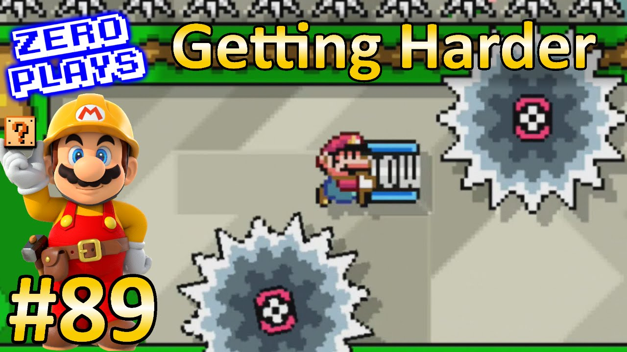Getting Harder | Super Mario Maker Part 89